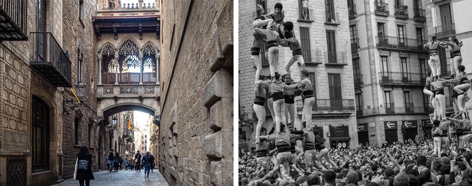 Barcelona Barri Gotic_ Els Castellers